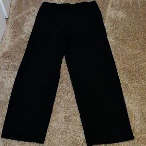 Briggs New York black pull-on dress slacks